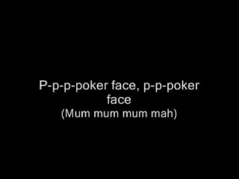 Poker face of mice and men lyrics
