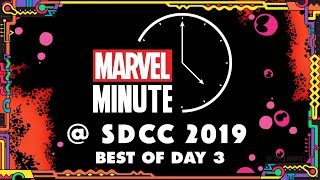 Marvel Minute @ SDCC 2019! | Day 3