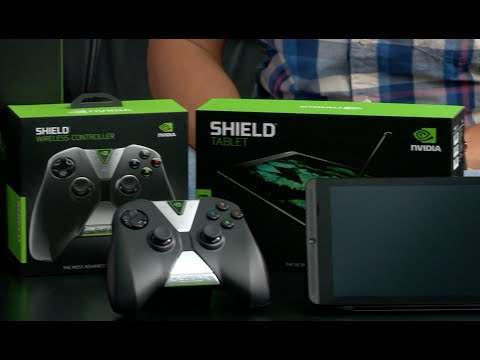 The Unboxing Experience: SHIELD Tablet, SHIELD Wireless Controller and SHIELD Tablet cover