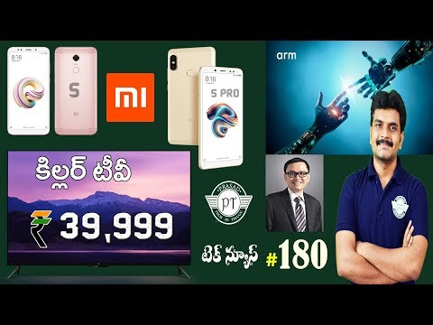 technews 180 MiTV 4,ARM ML & ARM OD,Nokia 9,Redmi Note 5 & Note 5 Pro etc