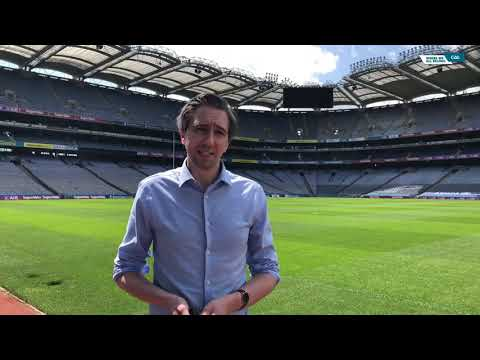 Minister for Health, Simon Harris, lauds the GAA's role in the fight against COVID-19