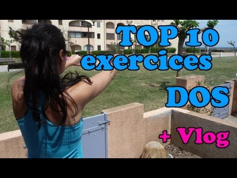 top 10 des meilleurs exercices pour le dos musculation la maison ou en salle youtube. Black Bedroom Furniture Sets. Home Design Ideas