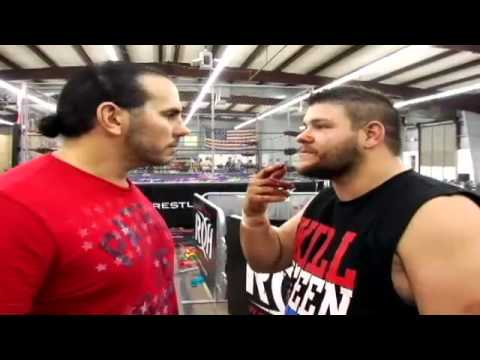 Raw Footage From The Hardy-Steen Confrontation