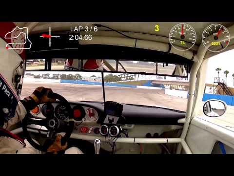 Sebring Jim Pace Porsche 911 RSR Onboard