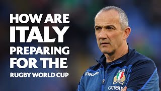 How Italy are preparing for the Rugby World Cup