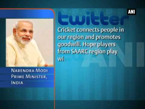 PM Modi conveys best wishes to SAARC Nations' heads participating in World Cup