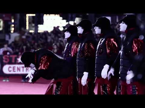 Jabbawockeez- Hollywood Christmas parade 2011