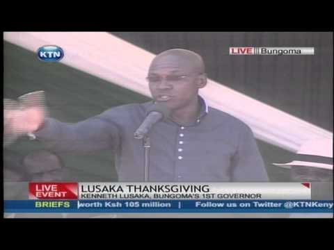 Bonny Khalwale puts criticism on the face of President Uhuru Kenyatta