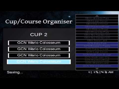 Mario Kart Wii - CTGP Cup/Course Organiser!