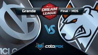 [PT-BR] Vici Gaming vs Virtus.Pro - DreamLeague 11 - Dota 2 Major