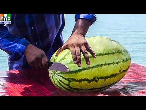 Watermelon | SUMMER SPECIAL STREET FOODS IN INDIA | SUMMER HEALTHY FOODS