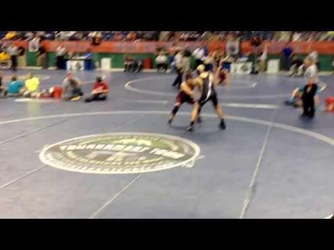 Nash central high school Steven Joyner first round NCHSAA state championships wrestling