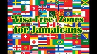 Visa Free Countries For Jamaicans A to Z