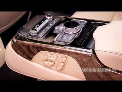2017 Hyundai Genesis G90 Pemium Luxury Interior Features Review