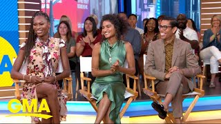 The stars of 'Pose' show us how to 'sell the face' l GMA