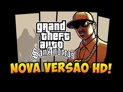 GTA San Andreas REMASTERIZADO em HD Gameplay da Nova versão