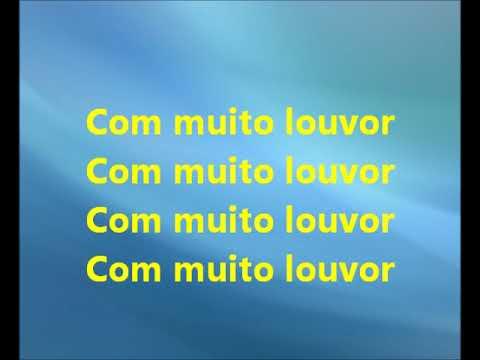 Com muito Louvor - Cassiane(playback legendado)