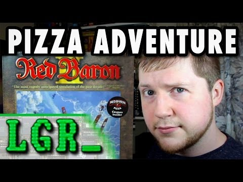 LGR - The Red Baron II Pizza Coupon Adventure!