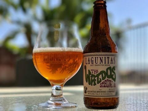 Beer Review #450 - Lagunitas - The Waldo's Special (2017) - 11.9% ABV