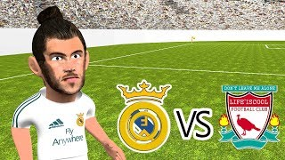 Real Madrid vs Liverpool 3-1 Champions League Final 2018 (Cartoon Highlights)