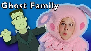 Ghost Family and More | HALLOWEEN SONGS | Nursery Rhymes from Mother Goose Club!