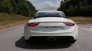 Alpine A110: Pure Engine Noise And Drifting