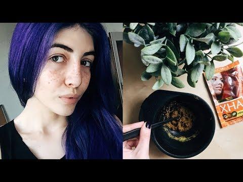 Как сделать веснушки из хны