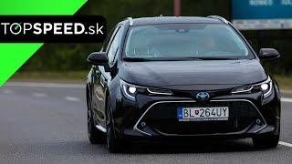 Toyota Corolla Touring Sports hybrid test - Alex ŠTEFUCA TOPSPEED.sk