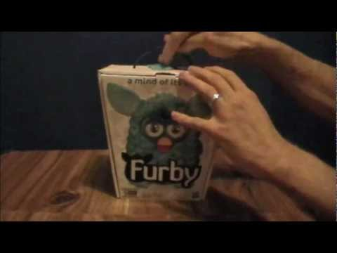 Furby 2012 Review, Part 1: The Unboxing! 2012's Hottest New Toy??  by Bin's Toy Bin