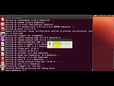 How to install Wine to Run Windows applications on Linux Ubuntu