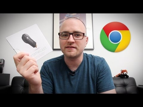 Google Chromecast Unboxing. First Look & Test!