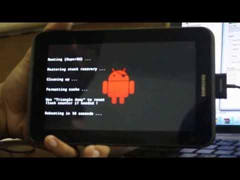 Root Samsung Galaxy Tab 2 7.0 (p3100)
