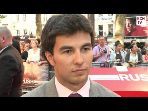 Sergio Perez Interview Rush Premiere