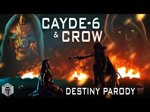 """Cayde-6 & Crow - Destiny Parody (""""Ex's & Oh's"""" by Elle King) thumbnail"""