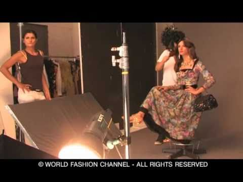 EXCLUSIVE BACKSTAGE ALESSANDRA AMBROSIO for VOGUE JAPAN