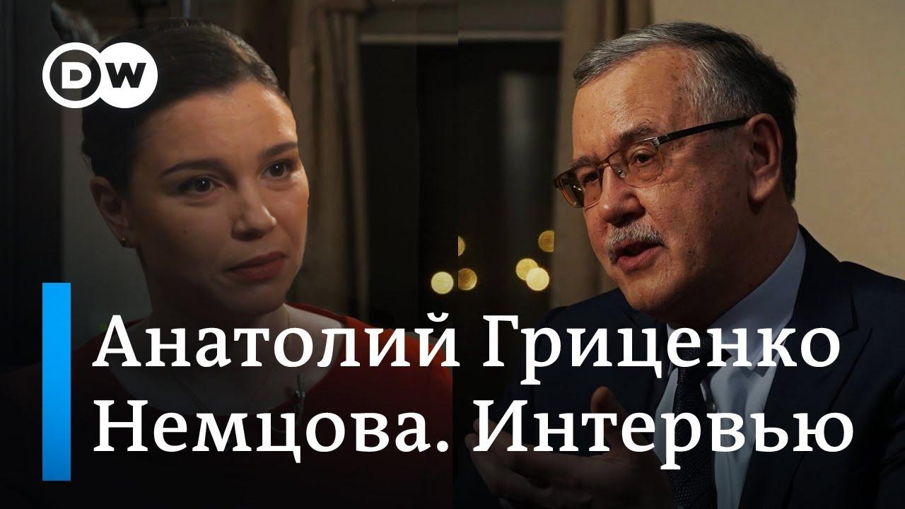 Кандидат в президенты Украины Гриценко: Меня учили как военного - воевать, погибать, убивать