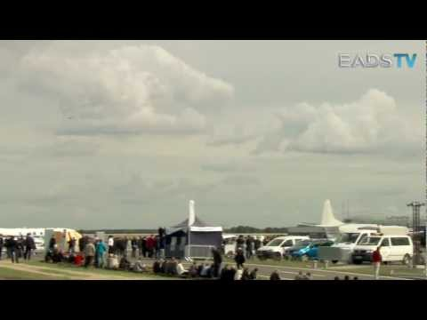 EADS - Eurofighter Typhoon Flight Display At ILA 2012 [720p]