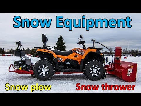 Best ATV / QUAD Snow Plow  - Winter Season