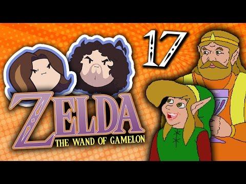 Zelda The Wand of Gamelon: Extra Epic Suck Sandwich - PART 17 - Game Grumps