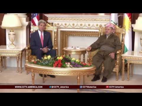 Iraq turmoil: Kerry asks Kurds to support Iraq unity