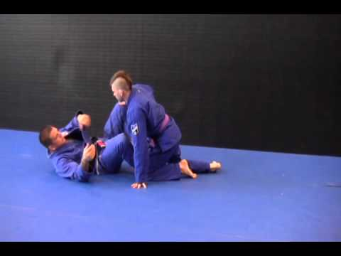 BJJ Basic X Guard Entry and Ankle Sweep Image 1