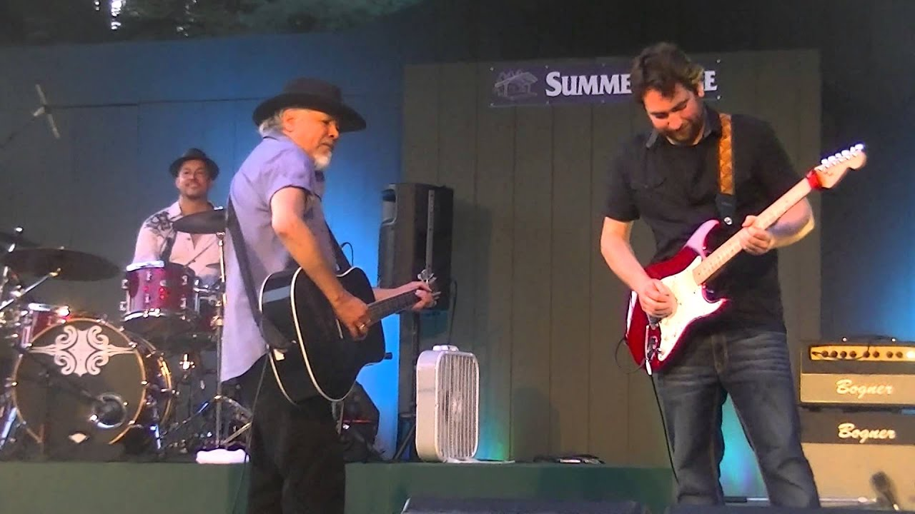 The former member of the Bodeans performs a song off his latest release, The Whole Night Thru, at Summerstage.