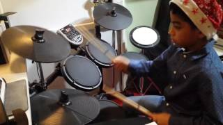 All I want for Christmas is You (Mariah Carey) Drum Cover By Mark Justine Pacion