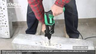 Test młotowiertarki Hitachi DH 26PC