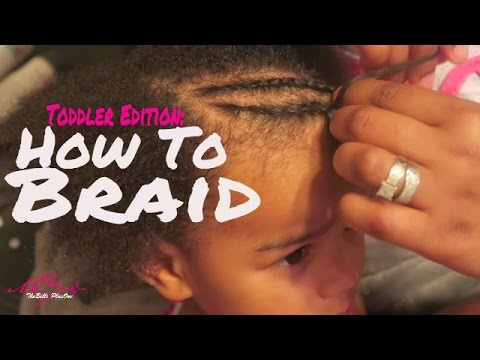 How To Braid Toddler Hair For Beginners   Mixed. Kinky. & Curly Textures   SoCozy Review