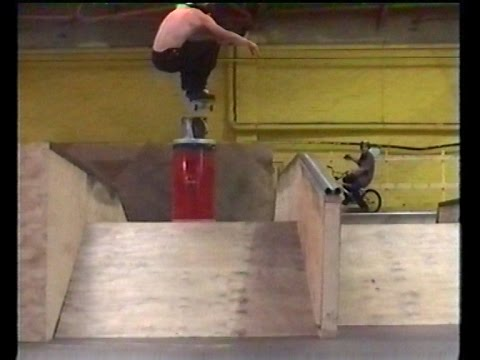VHS RAW Norwich Indoor park 2 2001 skateboarding