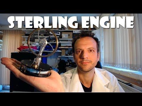 Kontax KS90 Stirling Engine Review