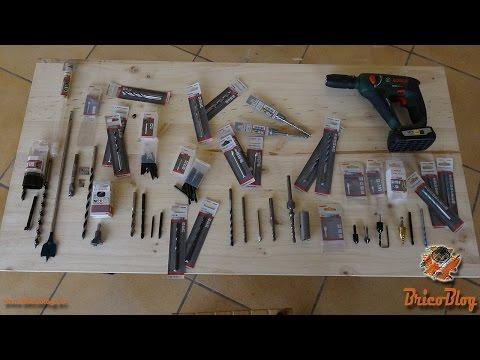Brocas para madera. Tipos y usos para bricolaje.
