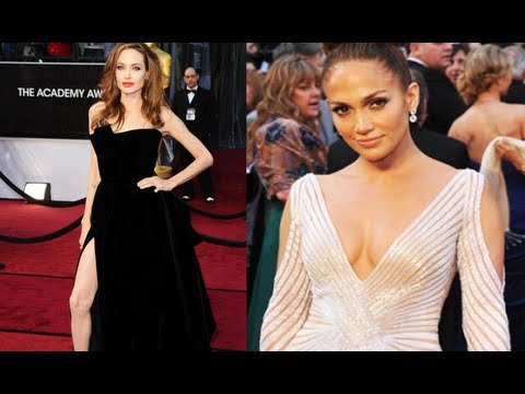 Oscars Review: Angelina Jolie's Leg, Jennifer Lopez, Emma Stone, Gwyneth Paltrow & More video
