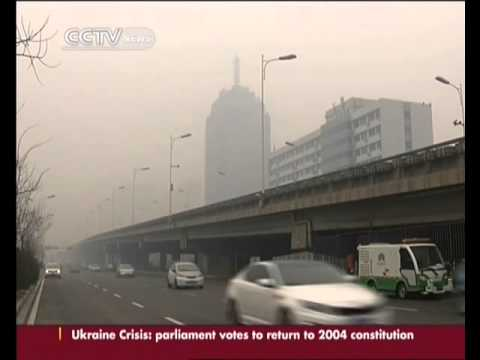 Severe air pollution alert issued in North China